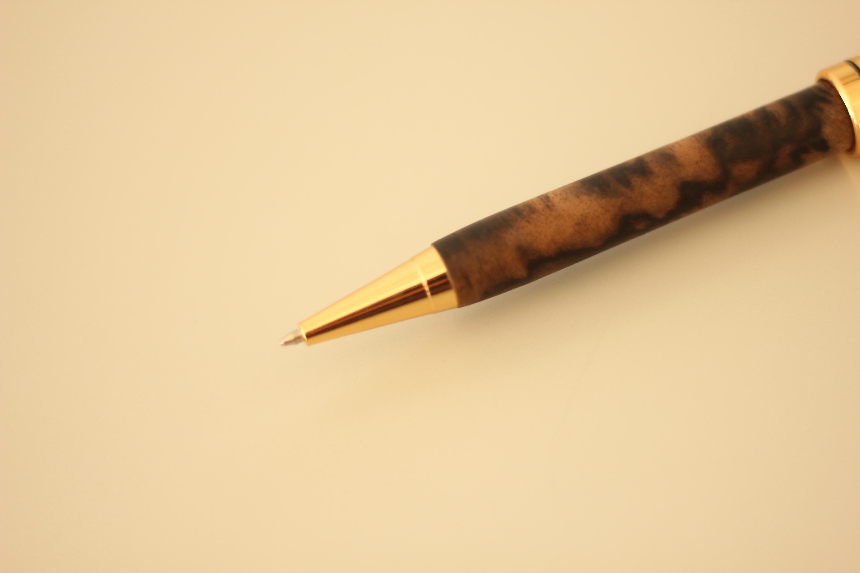 黒柿手作りボールペン(限定品)