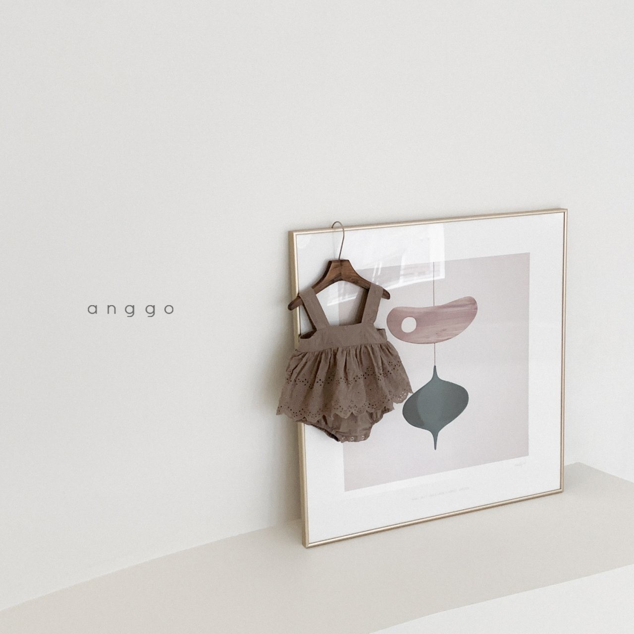 NO.1416.  Mary bustier suit / anggo