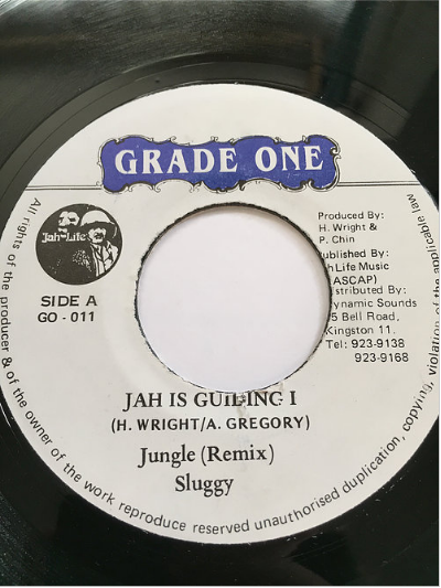 Sluggy (スラギー) - Jah Is Guiding I (Remix)【7'】