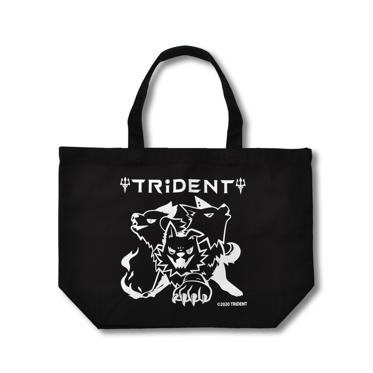 TRiDENT / 厚手キャンバストートバッグ