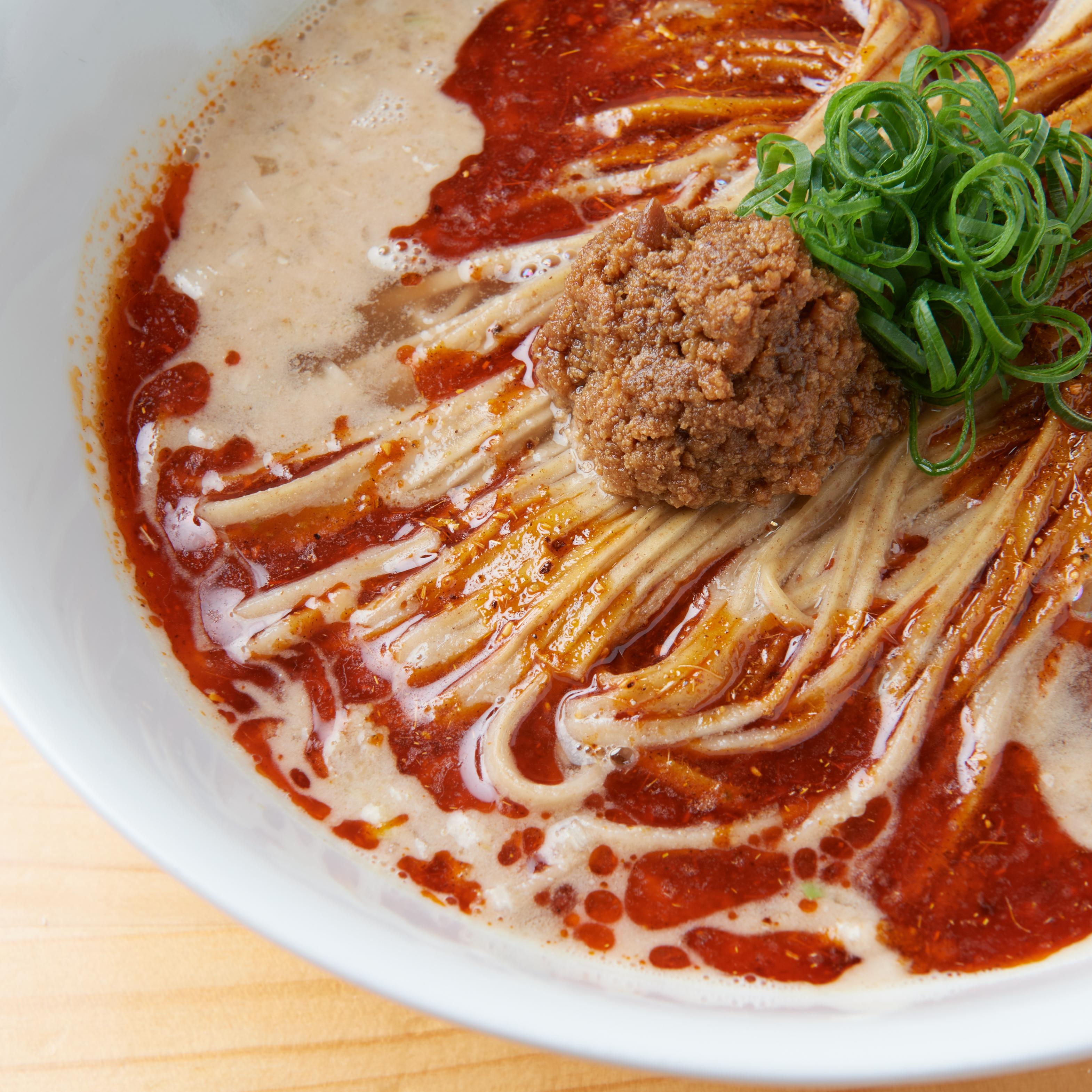【らぁ麺 飯田商店】新麦麺食べ比べ!しおらぁ麺と担々麺・2食セット