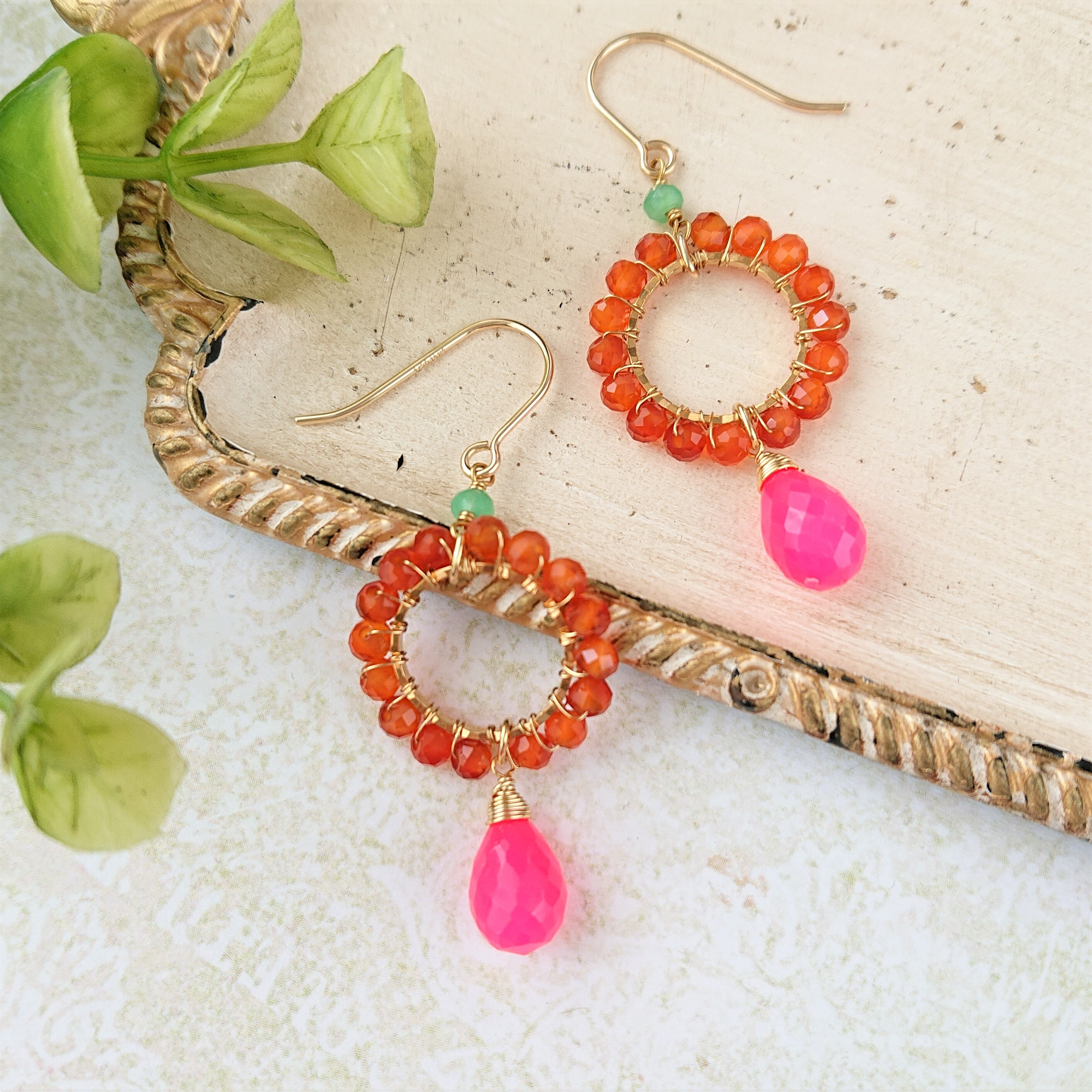 candy color pierce / earring 014