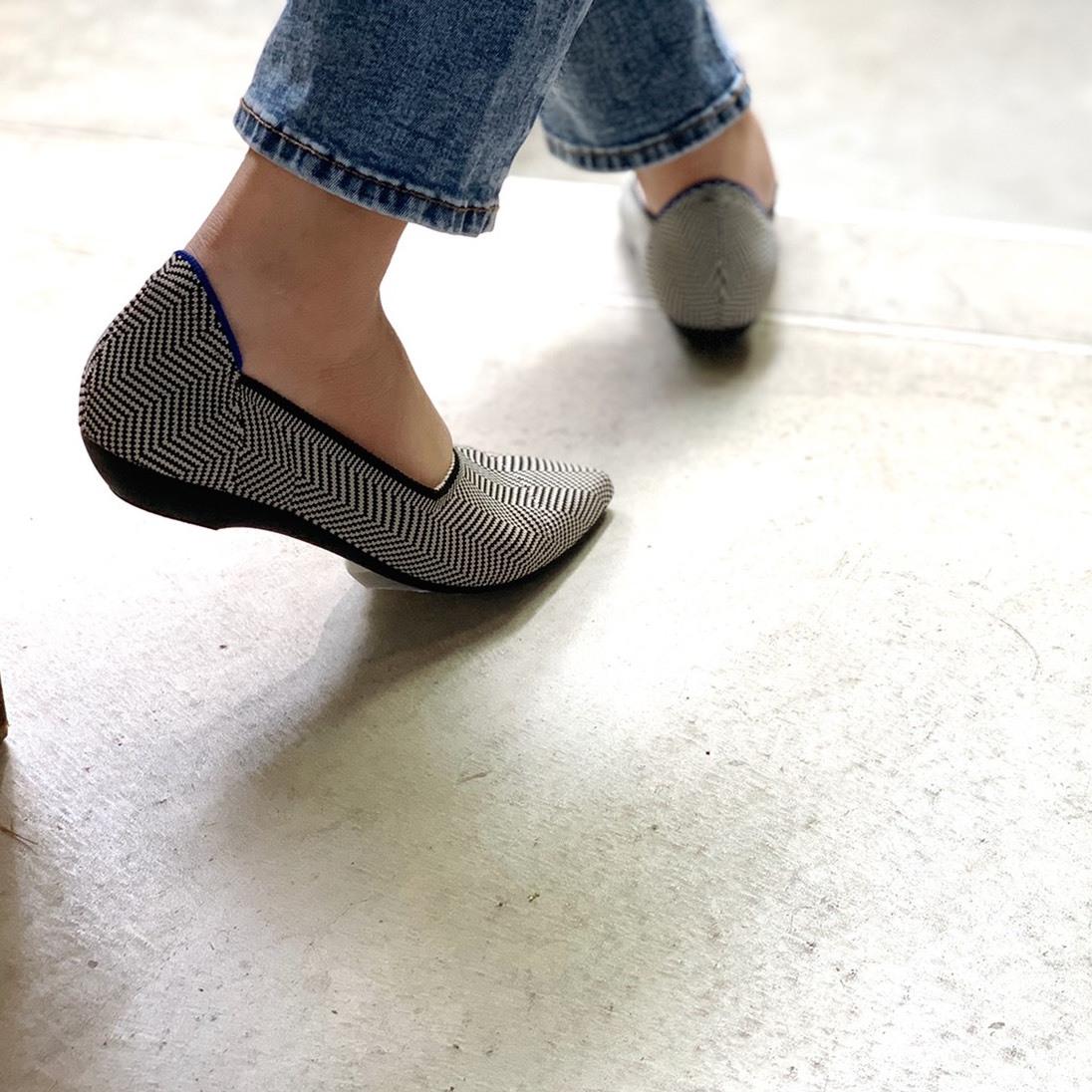 Knitting mold flat shoes|ニッティングモールドフラットシューズ #ot1123|【Ought=na】|madeinjapan|日本製