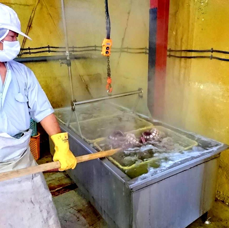 (0052)北海道紋別産 冷凍おいしいボイルたこ足 S(足2本・約1kg)