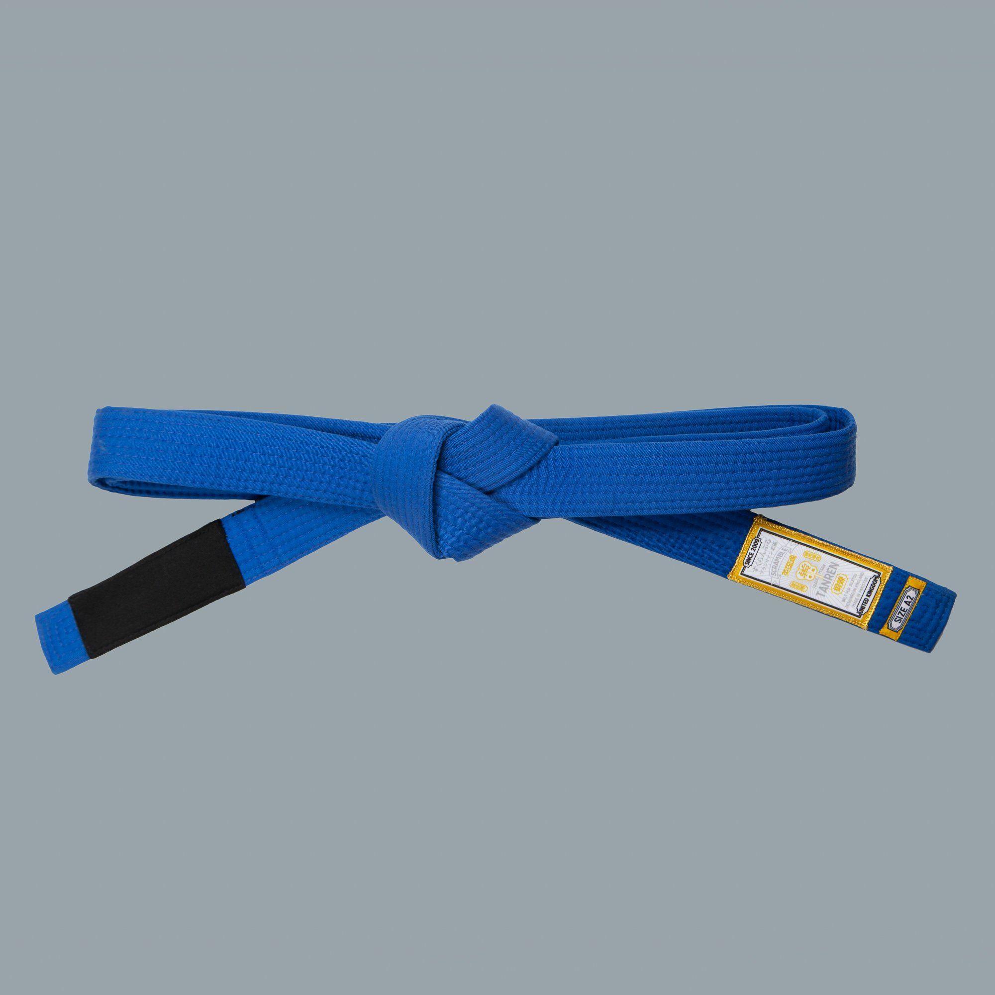 SCRAMBLE ブラジリアン柔術帯 TANREN V4 青帯