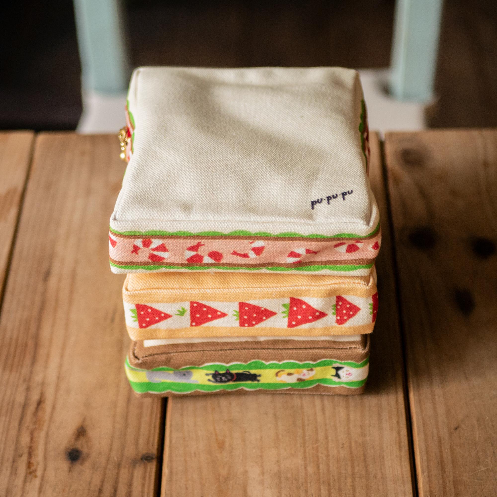 食パンのサンドイッチポーチ ver.2