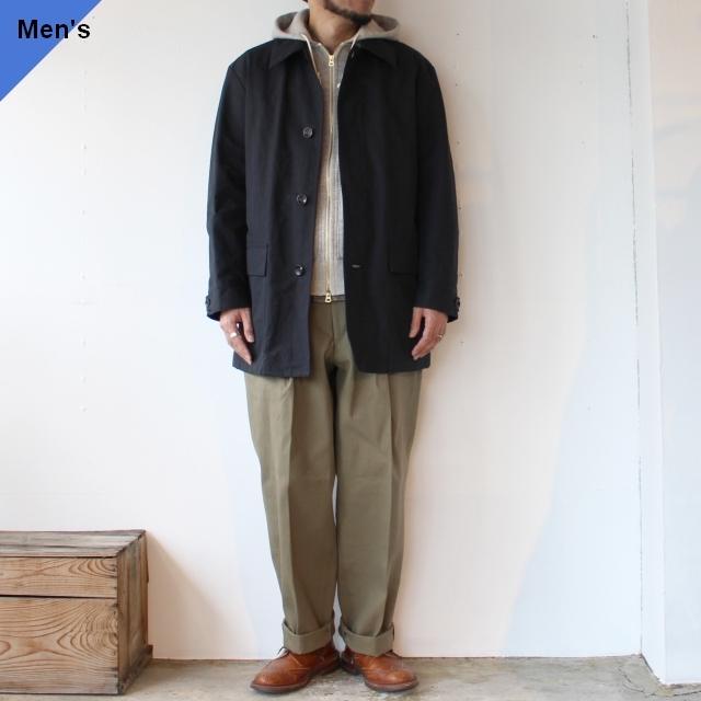 THE HINOKI ザヒノキ Cotton Linen Work Jacket コットンリネンワークジャケット TH20W-1 ネイビー