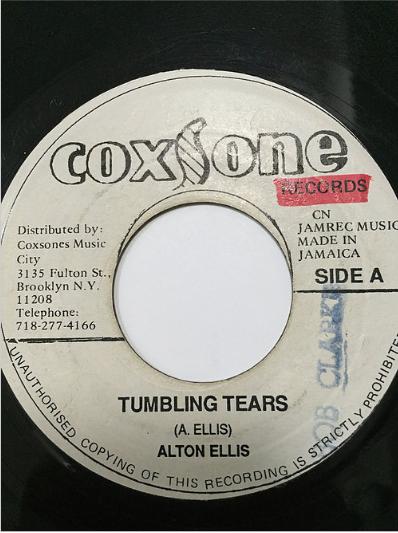 Alton Ellis(アルトンエリス) - Tumbling Tears【7'】