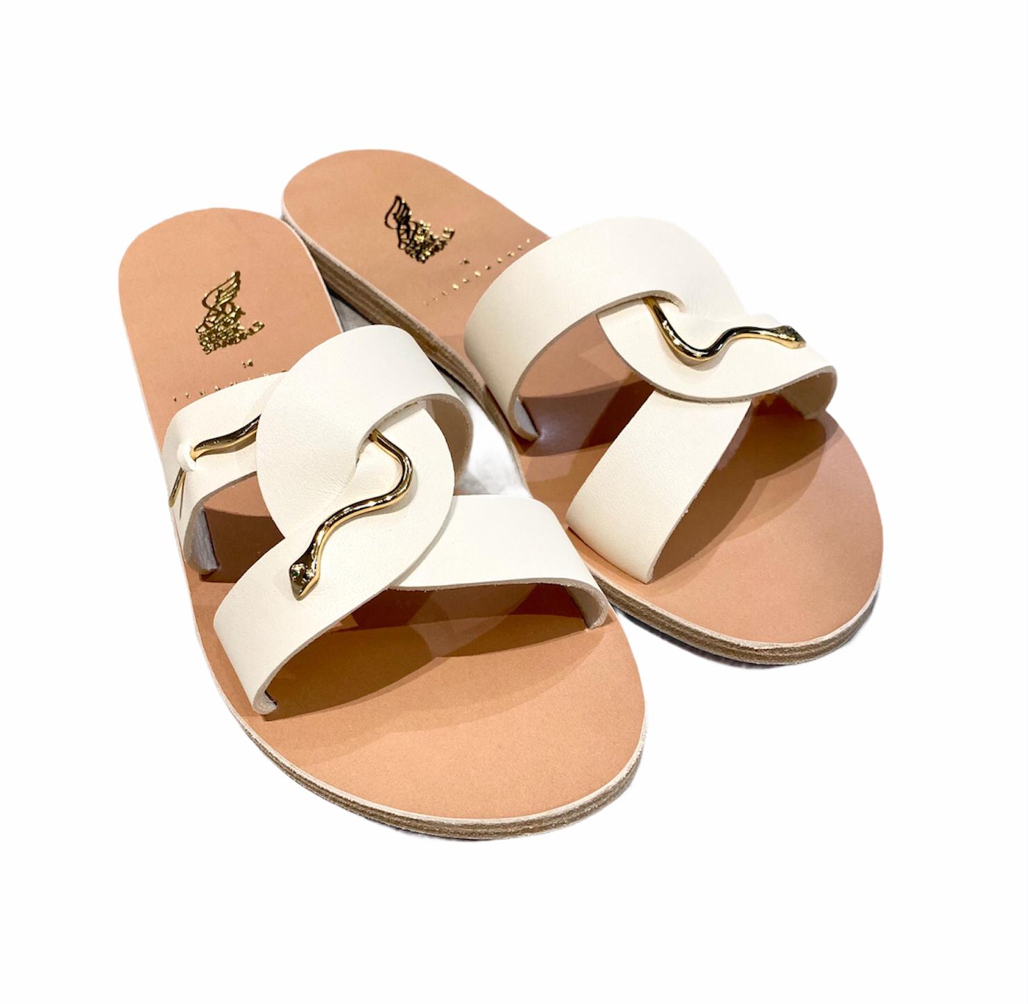 <ILEANA MAKRI × Ancient Greek Sandals> コラボレーションサンダル -White