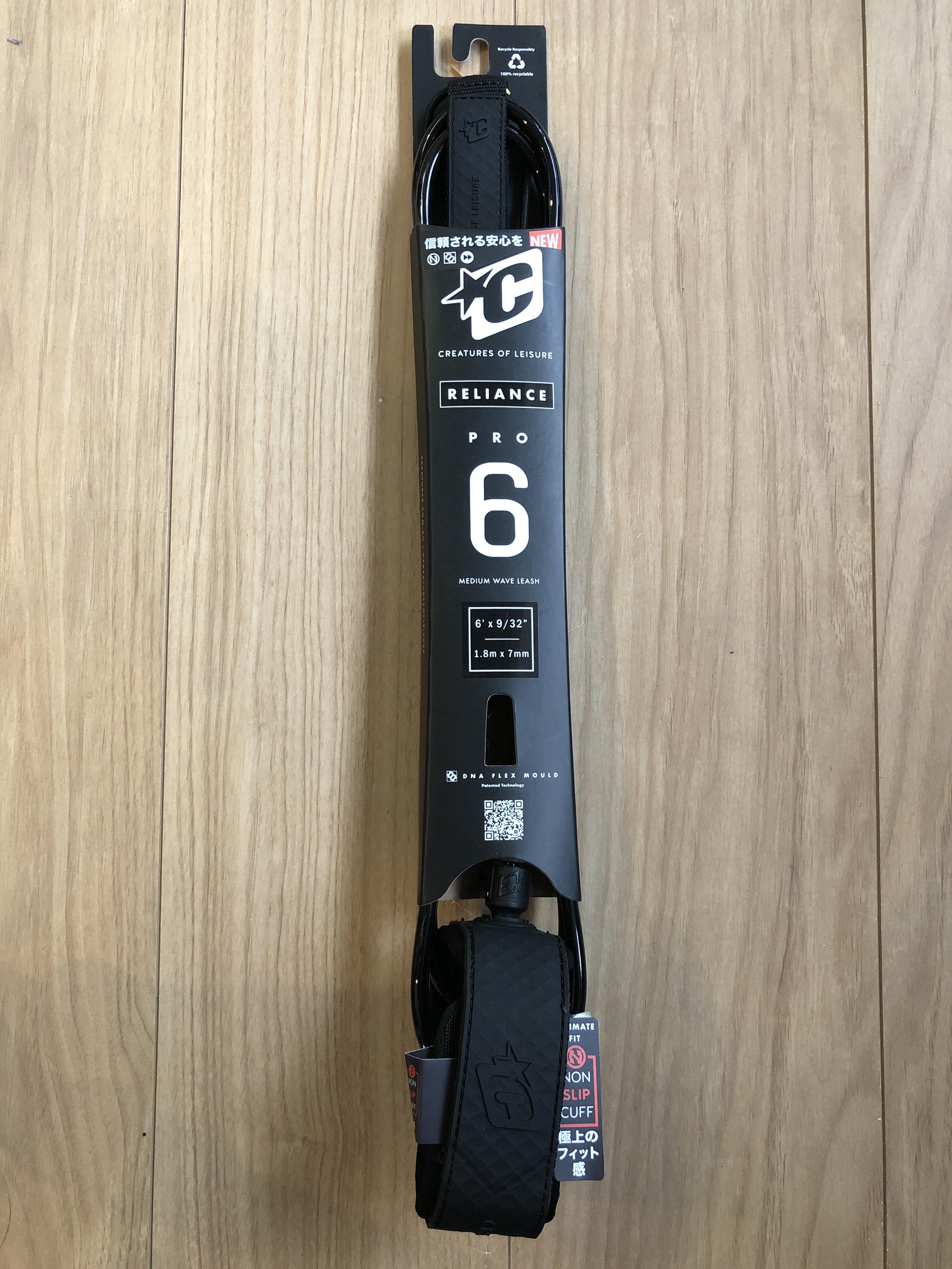 クリエイチャー リーシュコード プロ6 BLACKBLACK7mm