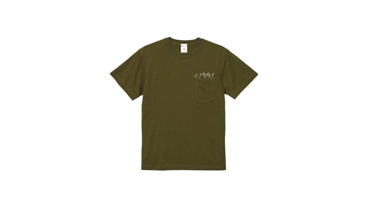 1991 pocket T-shirts (KAKI)