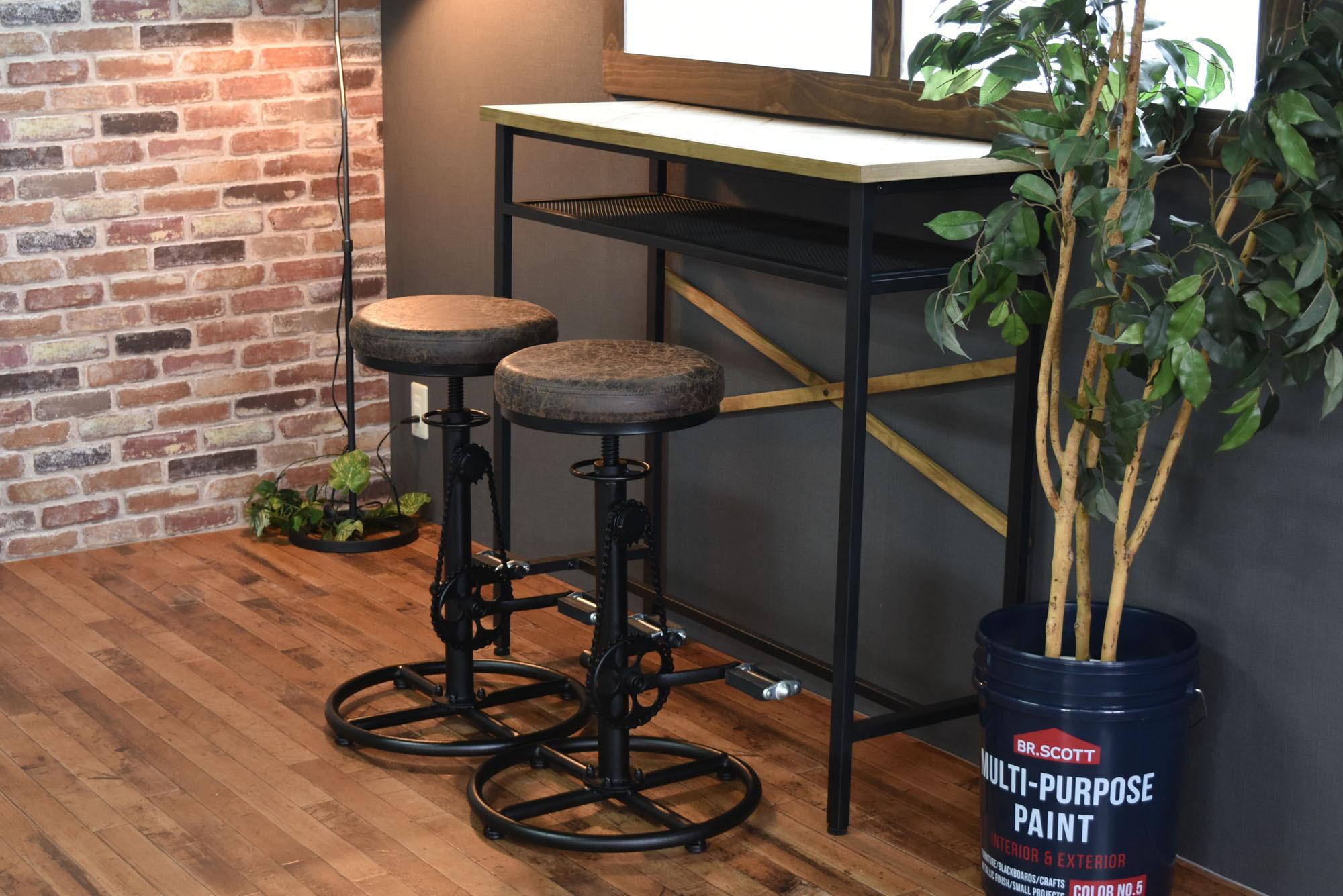 Smoky Bar Chair / ヴィンテージスタイル スモーキー バーチェア