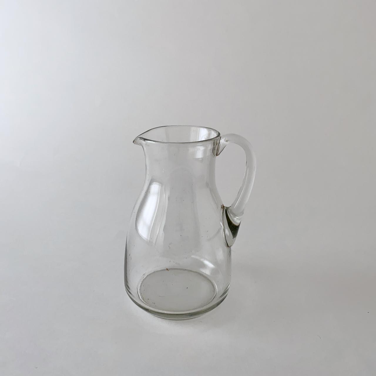 Vintage Clear jug  ヴィンテージのジャグ 10