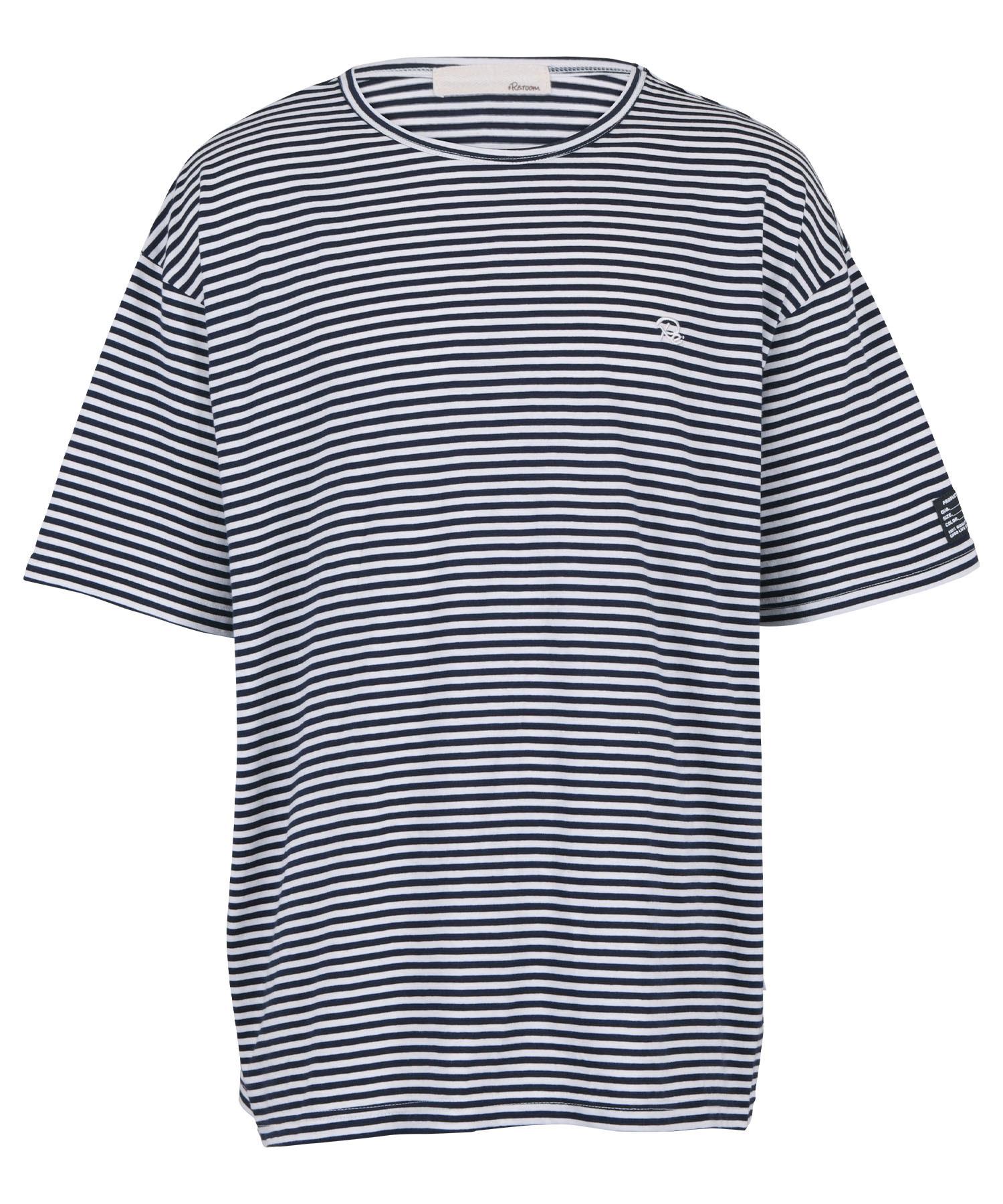 ONE POINT BORDER BIG T-shirt[REC503]