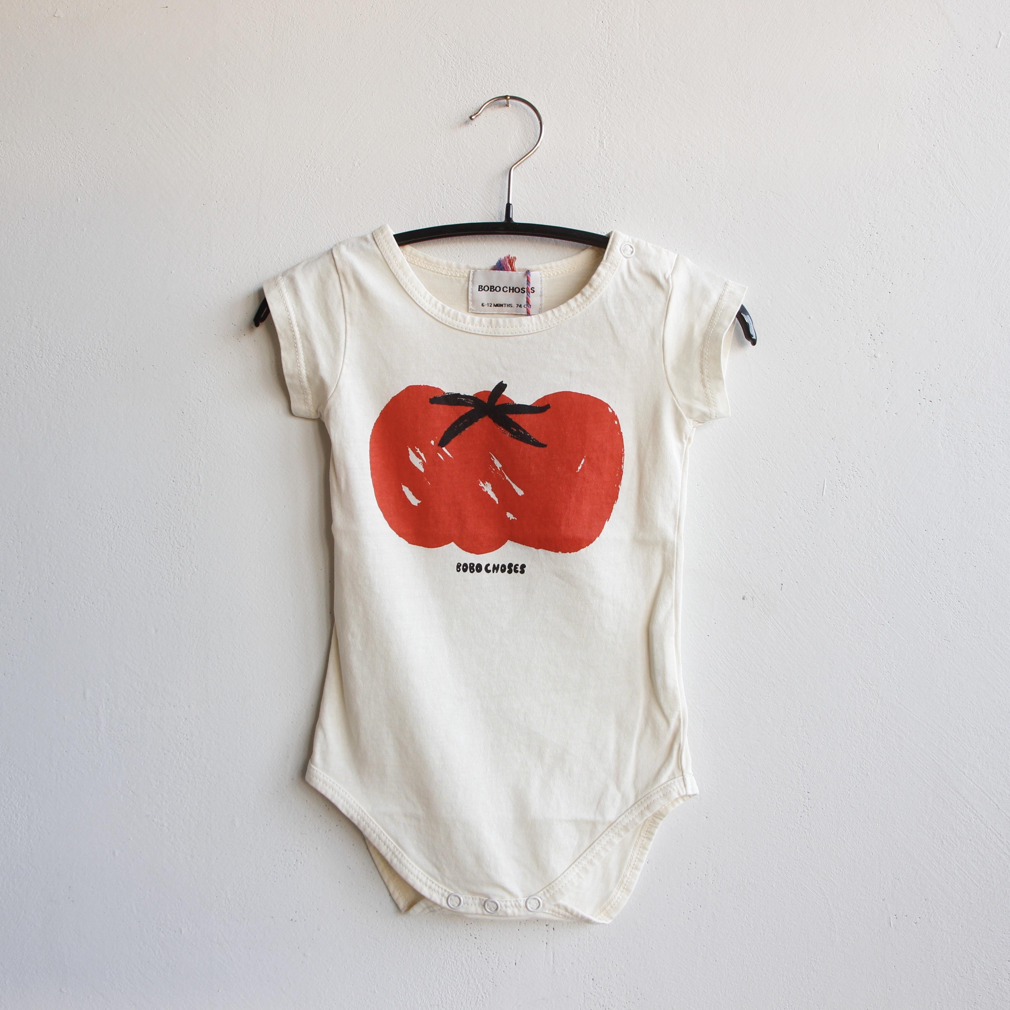 《BOBO CHOSES 2021SS》Tomato Short sleeve Body / 6-12M