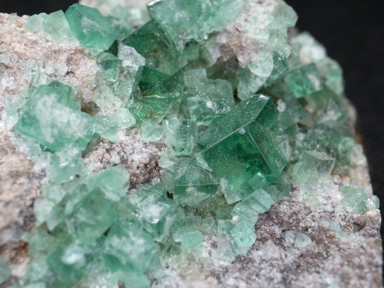 ロジャリー鉱山! グリーン フローライト 蛍石 原石 イギリス産 132,5g  FL033