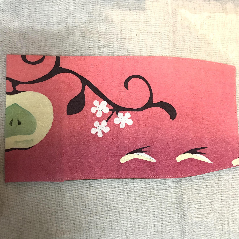 ち江す・ろうけつ染ブックカバー(林檎の気持ち