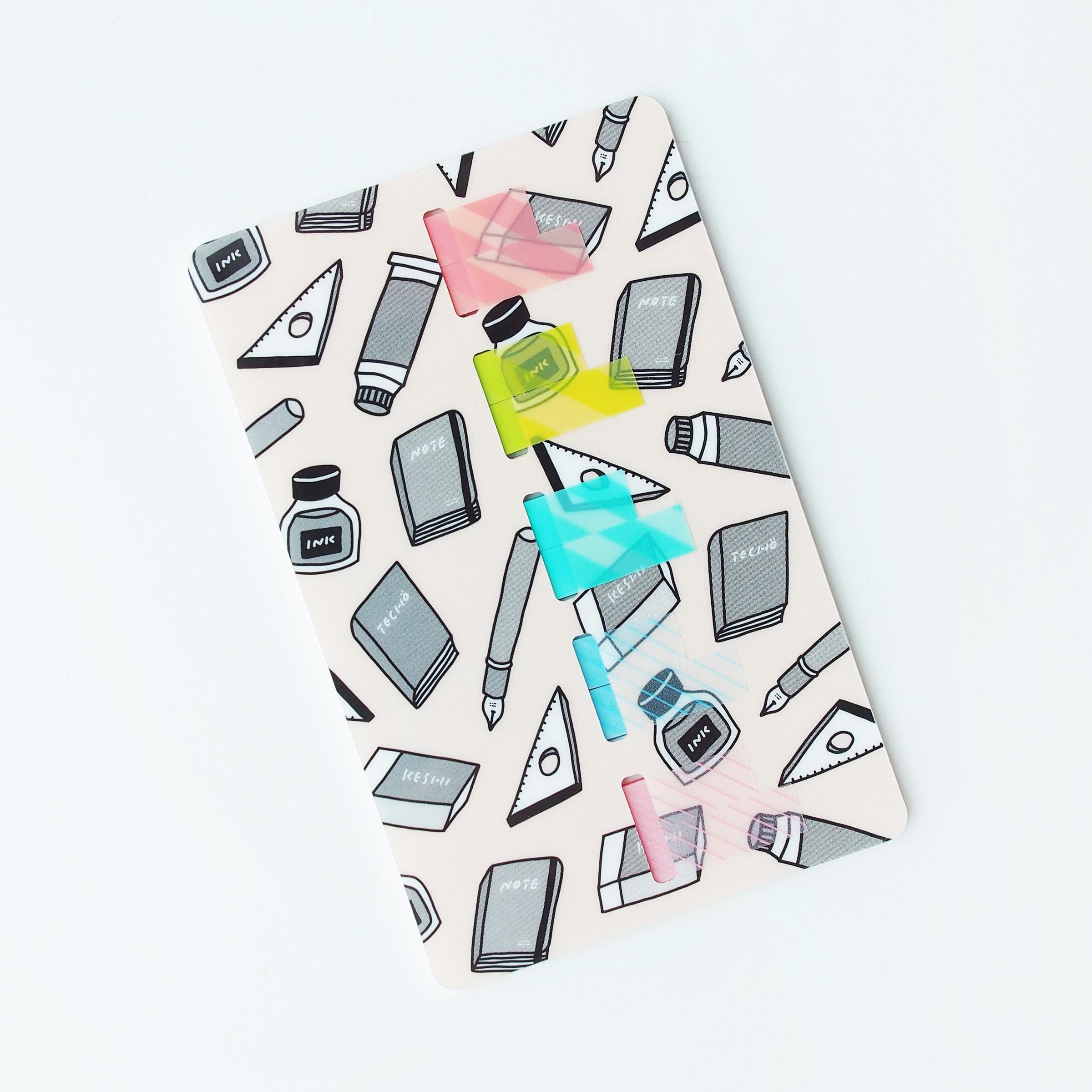 ココフセンカード|机の文房具の引き出し