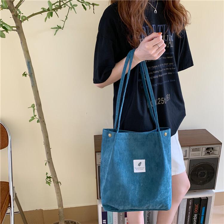 コーデュロイトートバッグ 【corduroyt tote bag】