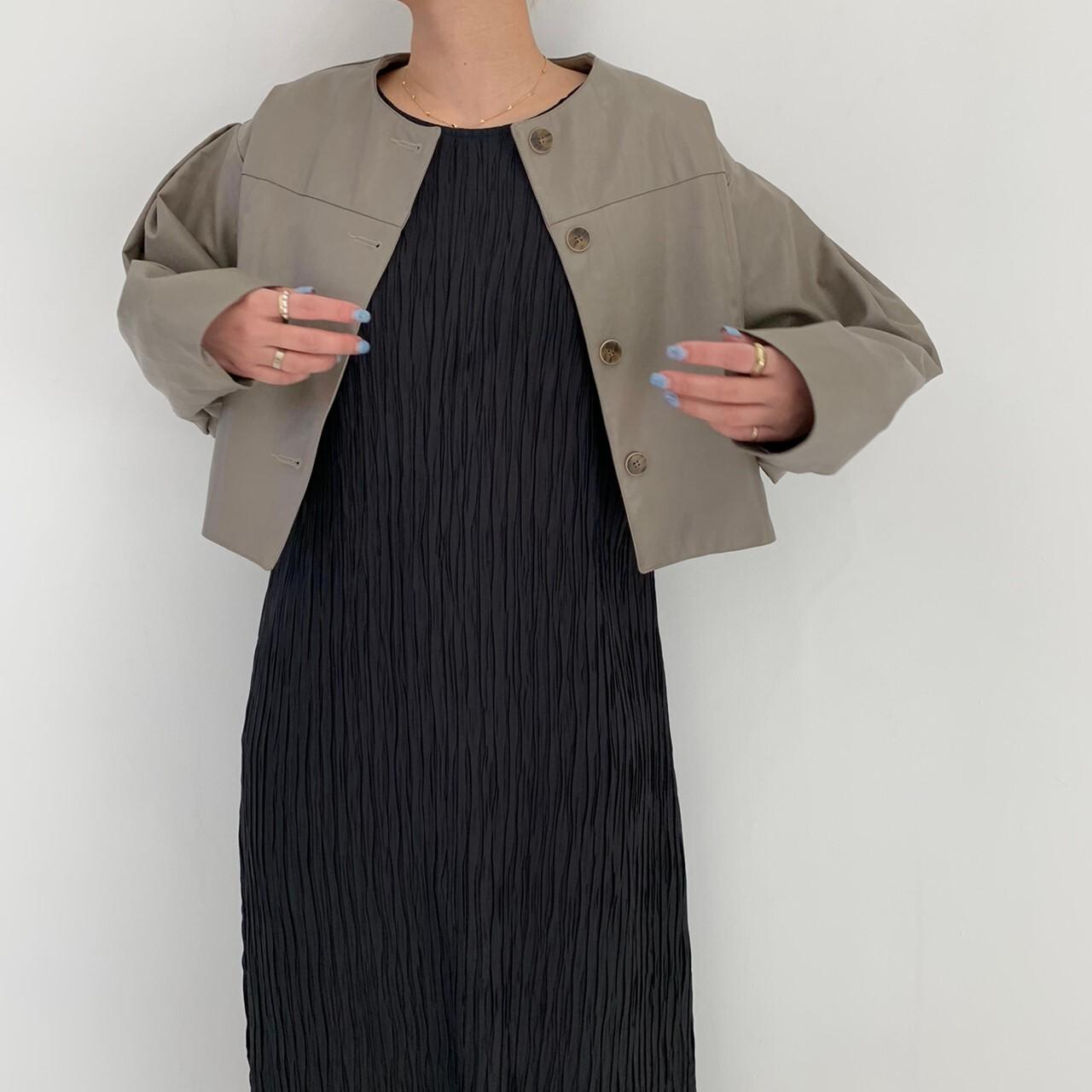 【asyu】short leatherjacket