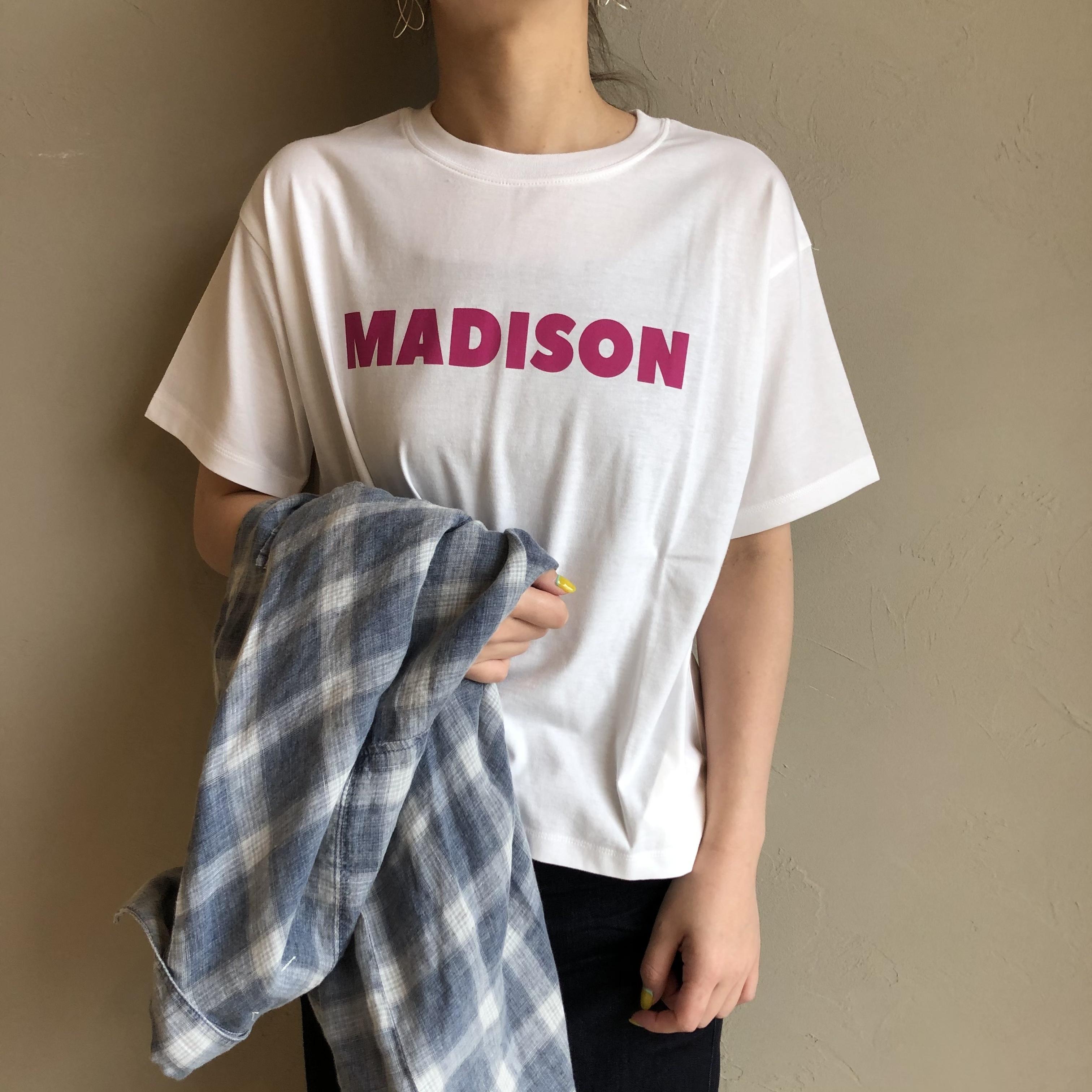 【 siro de labonte 】- R133202 - 30/- highgauge cotton MADISON Tシャツ