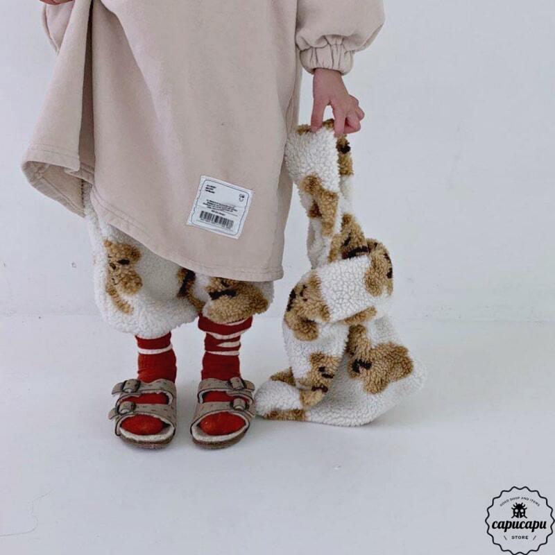 «即納» go.u mokomoko bag くまのバッグ
