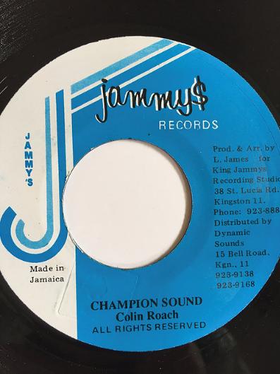 Collin Roach(コリンローチ) - Champion Sound【7inch】