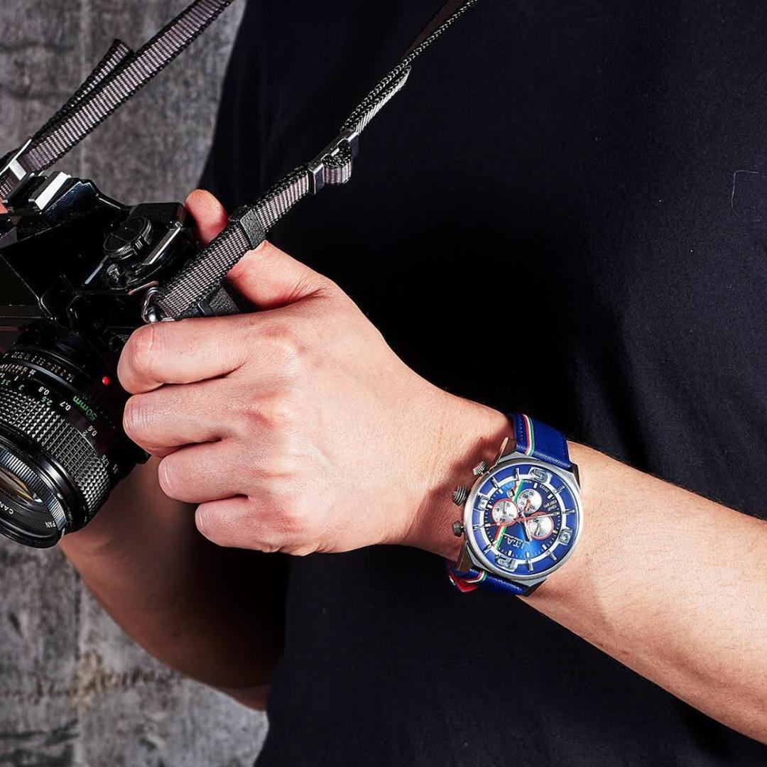 【I.T.A. アイティエー】GRAN CHRONO グランクロノ(ブルスクーロ)/国内正規品 腕時計