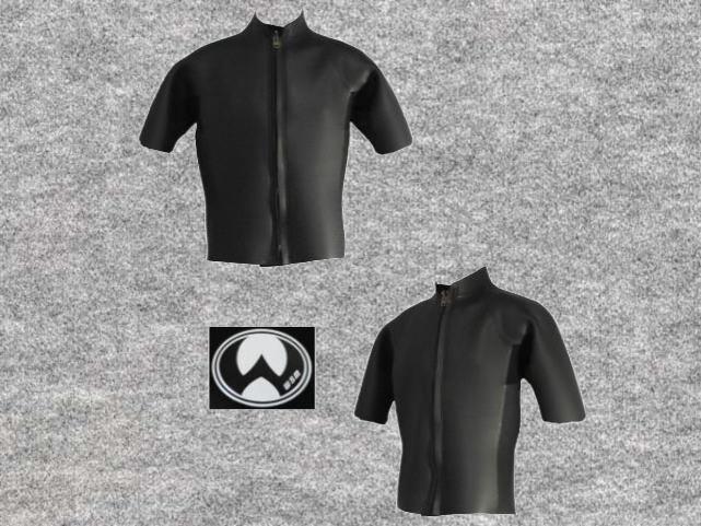 特別価格既製品スーパーNスキン3x3mm半袖タッパ立衿wsm1713FSK