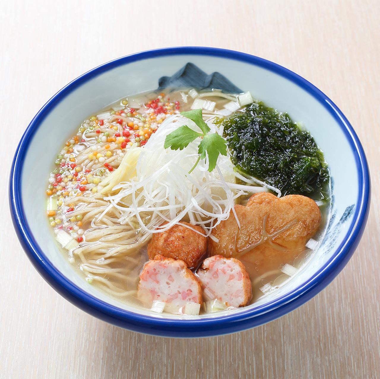 【春限定】鈴廣かまぼこ × AFURI 真鯛のあら炊きらーめん