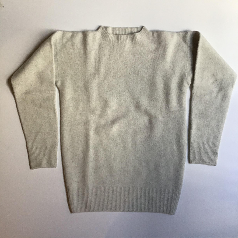 MITTAN  ウールセーター KN-02 薄灰