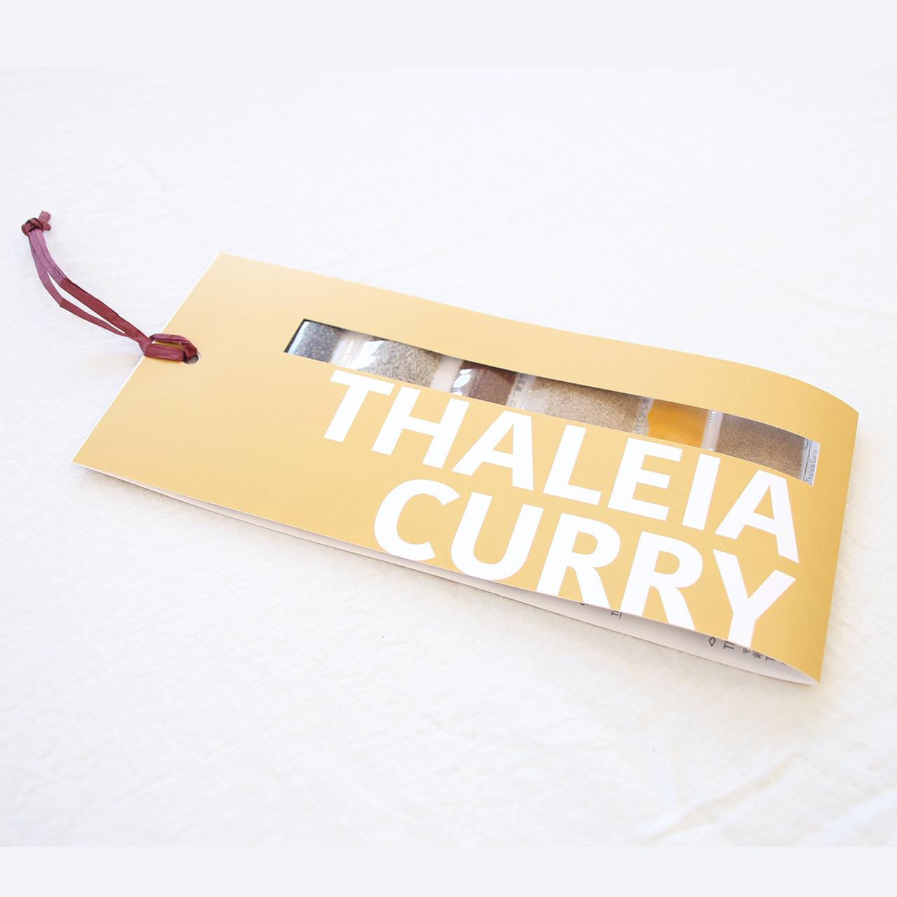 THALEIA CURRY スパイスカレーを作るためのオーガニックスパイスセット 送料無料