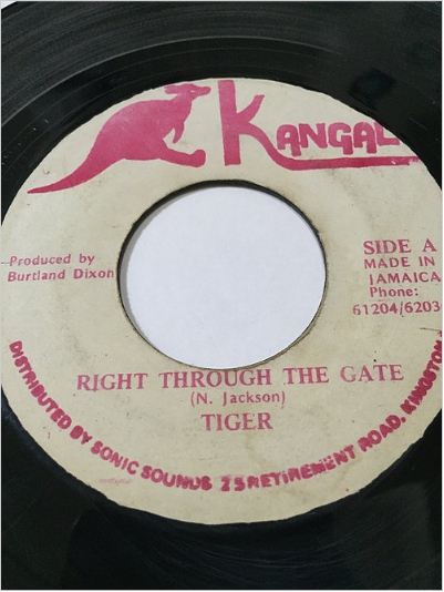 Tiger(タイガー) - Right Throught The Gate【7'】