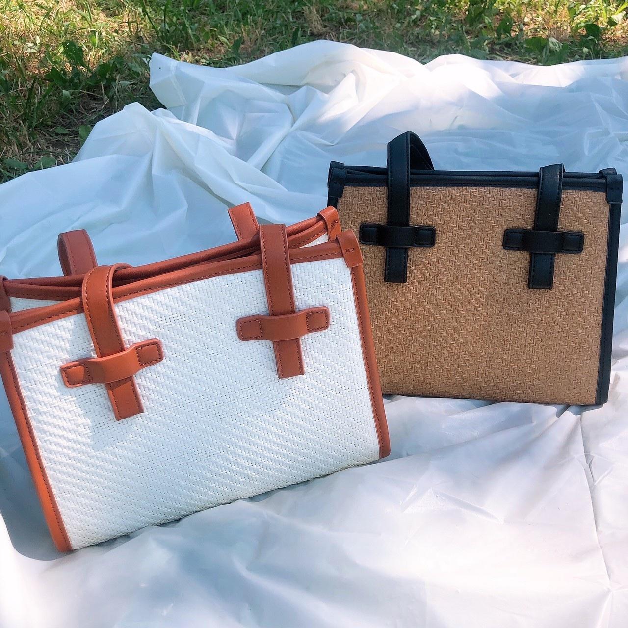 【ももはな】summer square bag