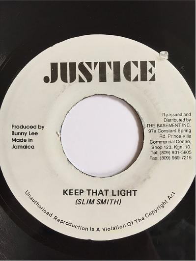 Slim Smith (スリムスミス)- Keep That Light【7'】