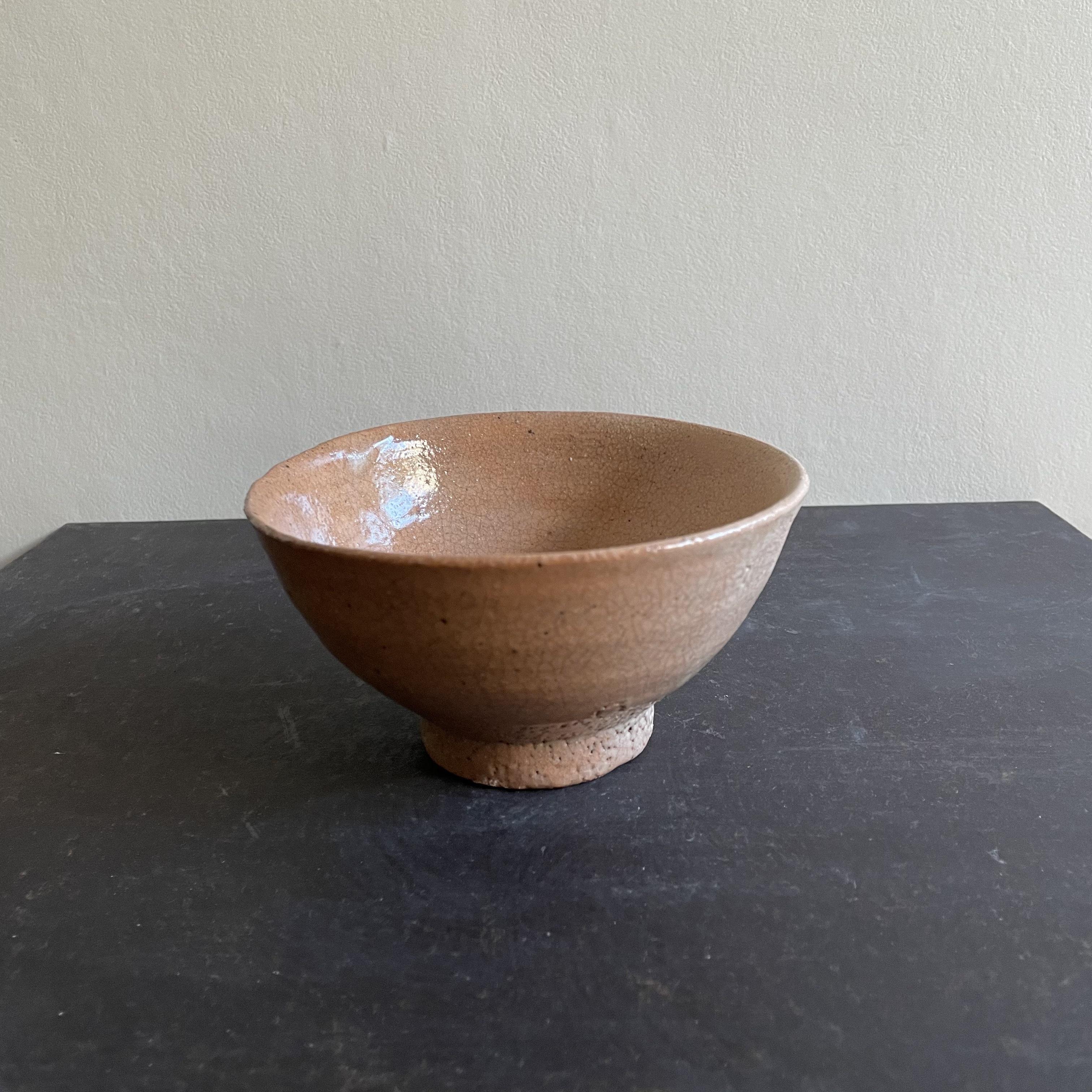 清水 善行   韓国手長石釉茶碗