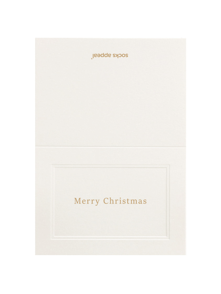 MESSAGE CARD【Merry Christmas】