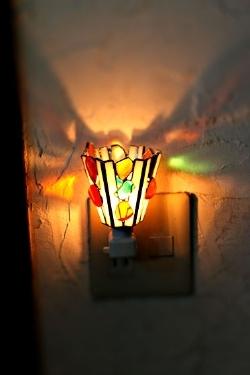 ドロップス(ステンドグラスのフットランプ)(コンセプトランプ) 01030010