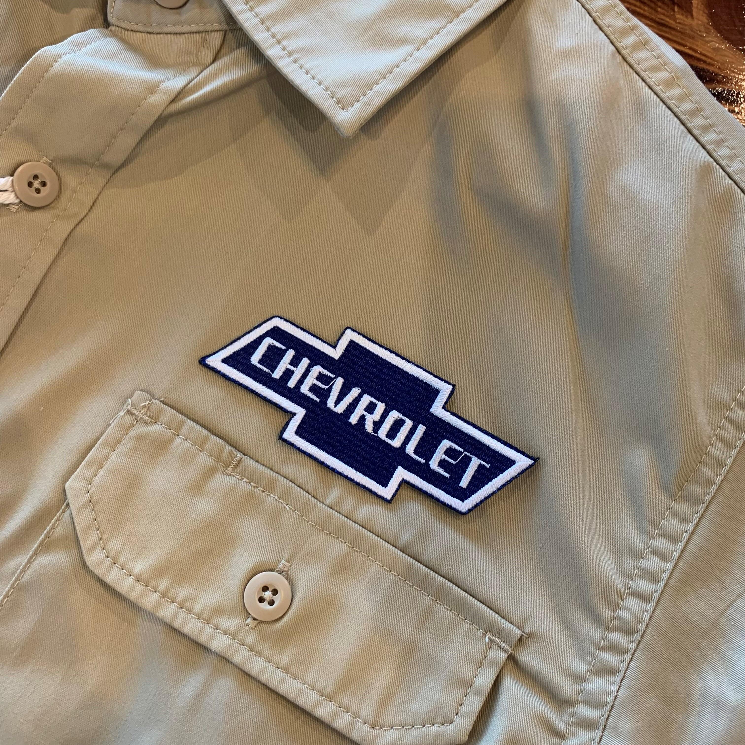 PATCHIES【ワッペン】 CHEVROLET シボレー ワークシャツ