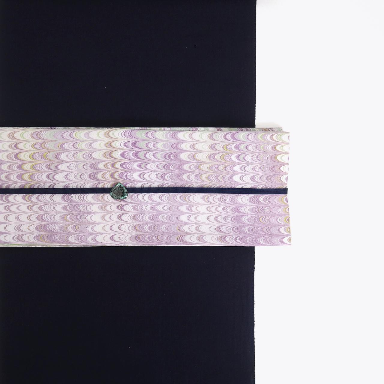 半巾帯 [藤]