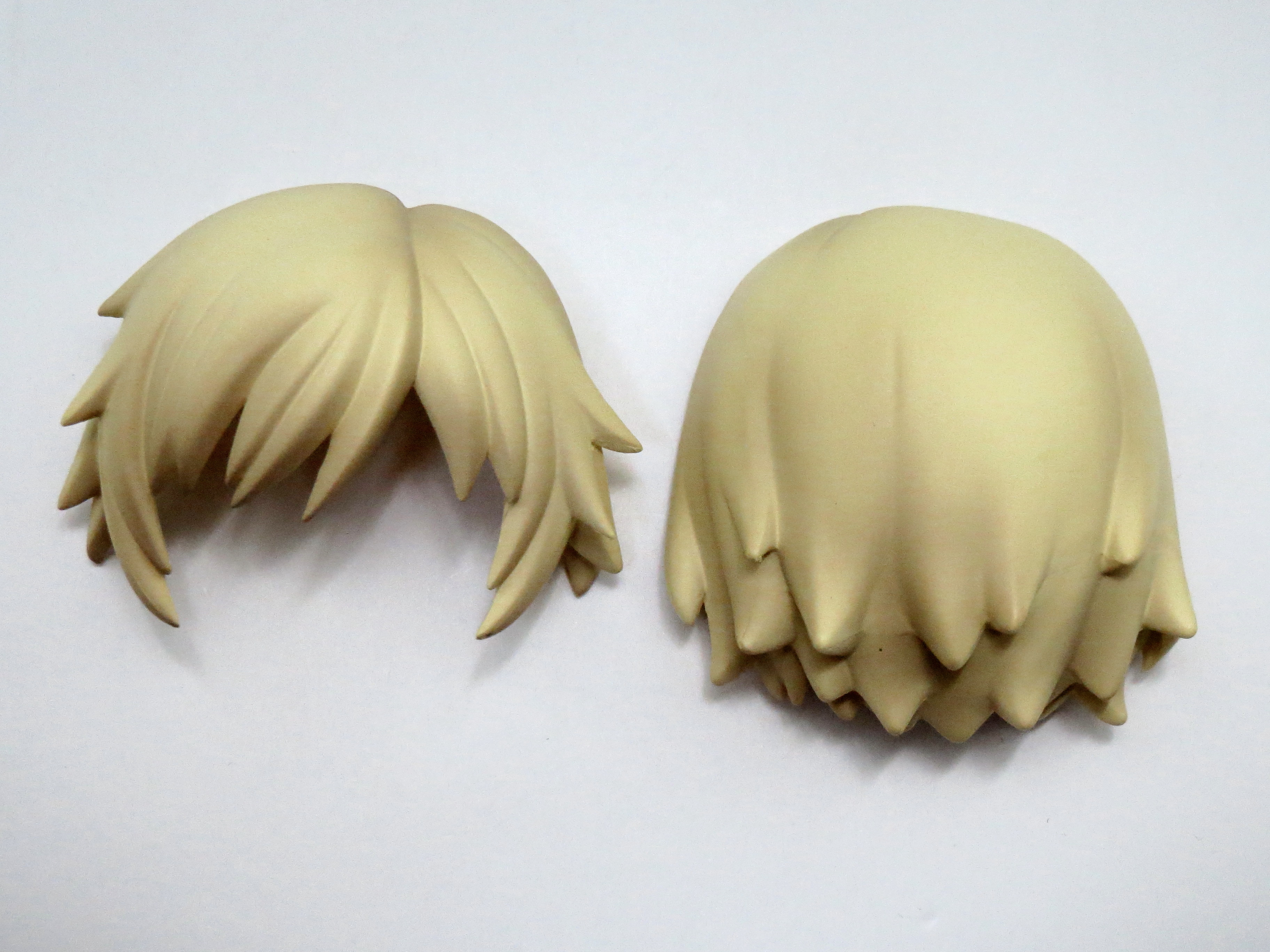 【538】 雷電 MGS2Ver. 髪パーツ ショート ねんどろいど