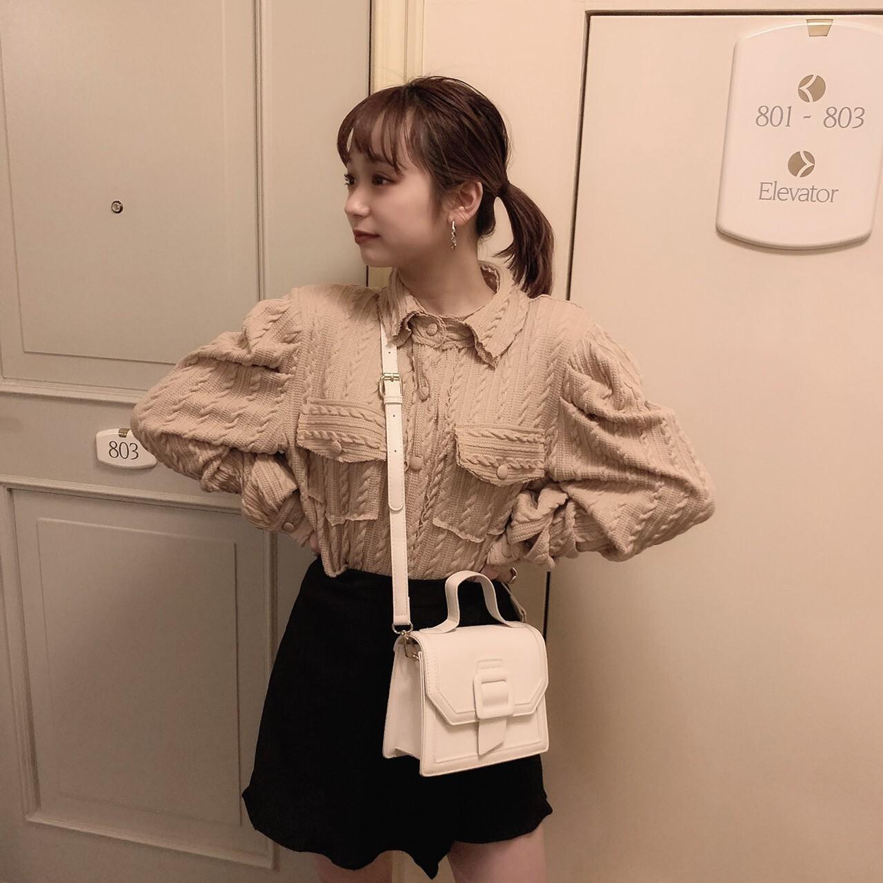 再販予定【meltie】mini frill skirt