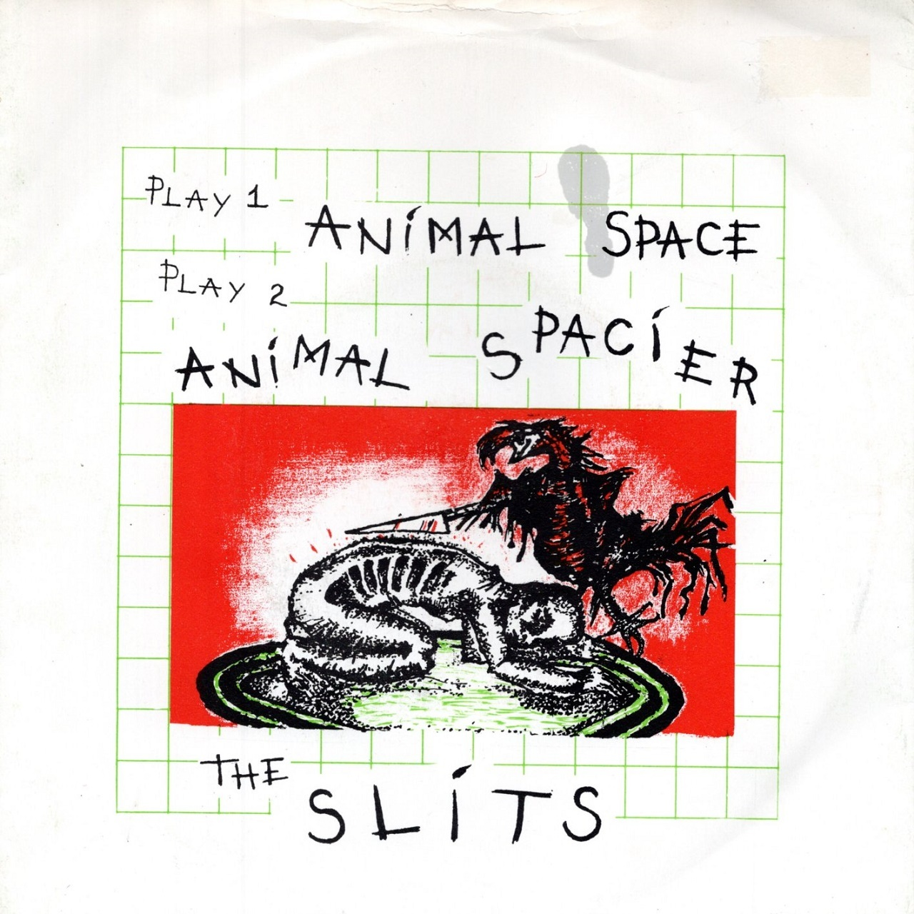 【7inch・英盤】The Slits / Animal Space