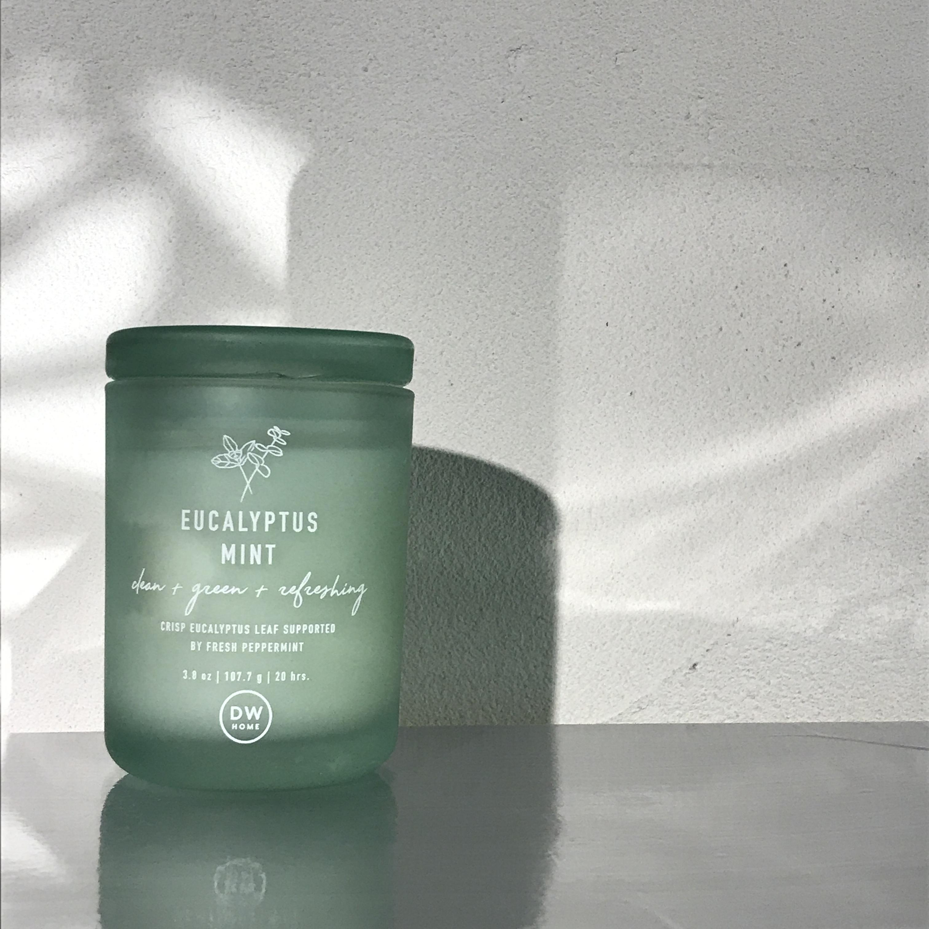 【Dw Home Candles】EUCALYPTUS MINT【アロマキャンドル】
