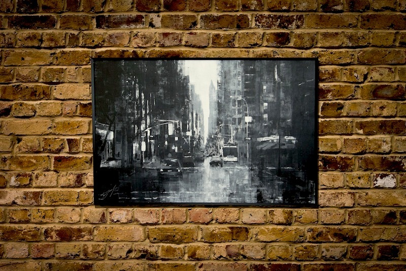 New York, city scape composition #5 (額入り特別作品)