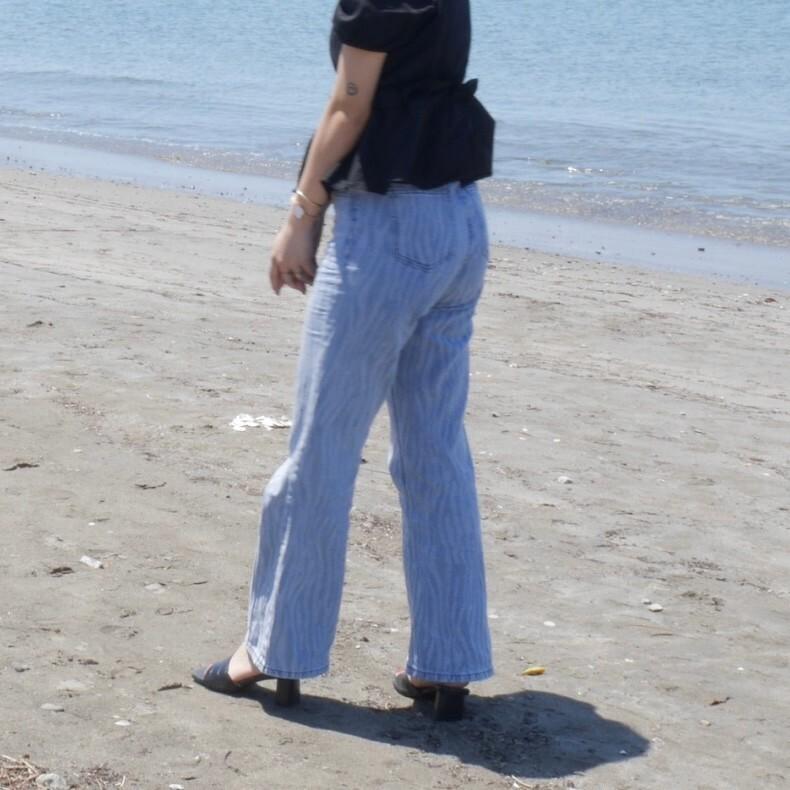 【Belle】zebra jeans