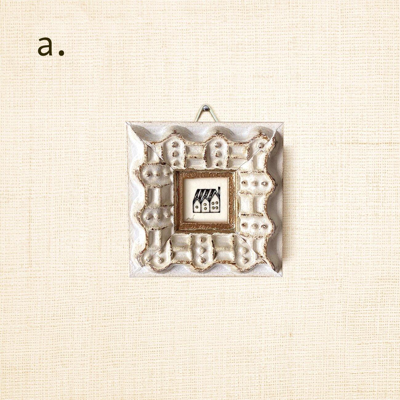 ミニ額縁 原画【 帰る場所 】ご注文者さま・額縁セレクト画像<a>-<p>