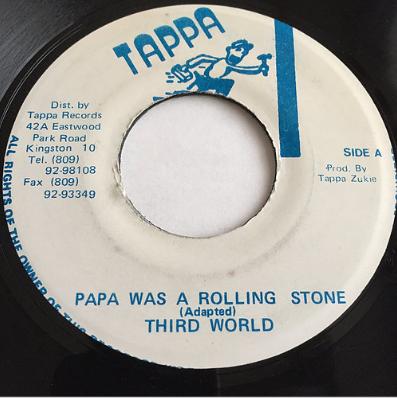 Third World(サードワールド) - Papa Was A Rolling Stone【7'】