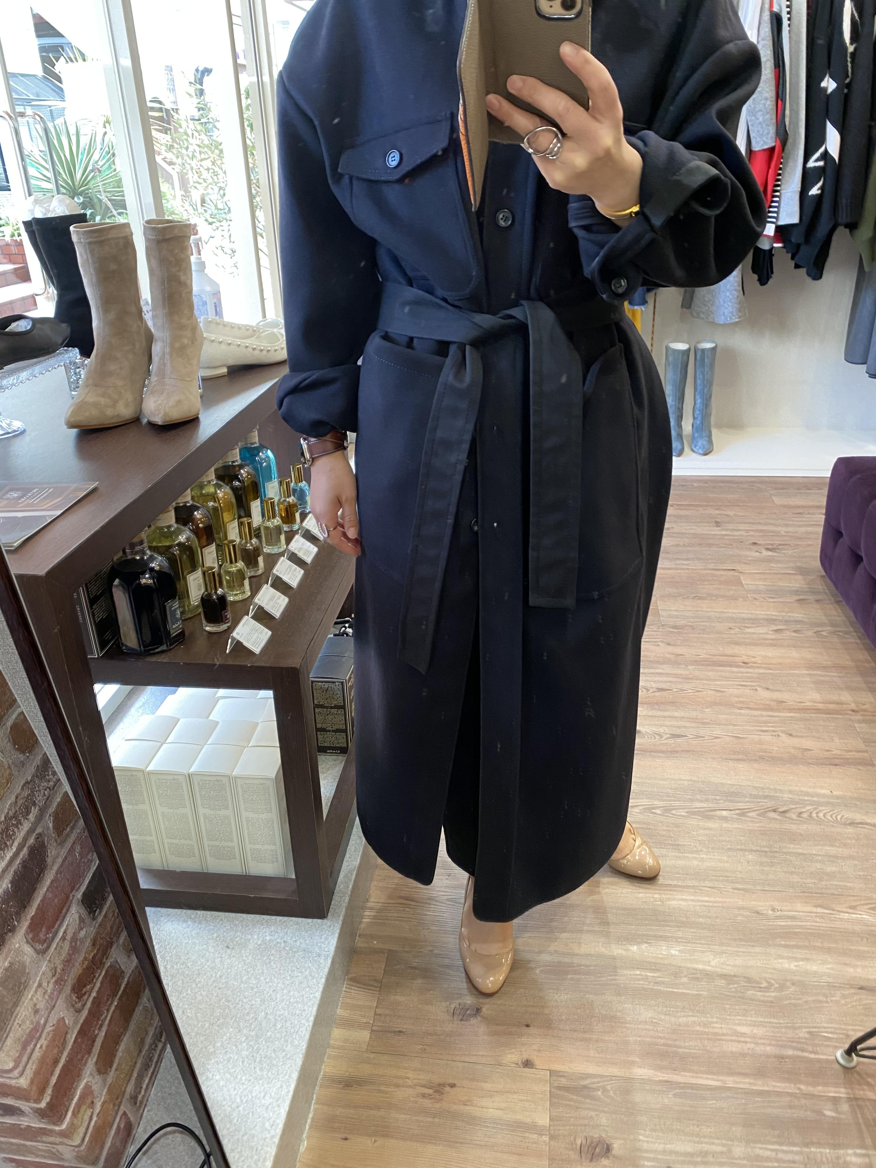 N°21 ロングシャツコート