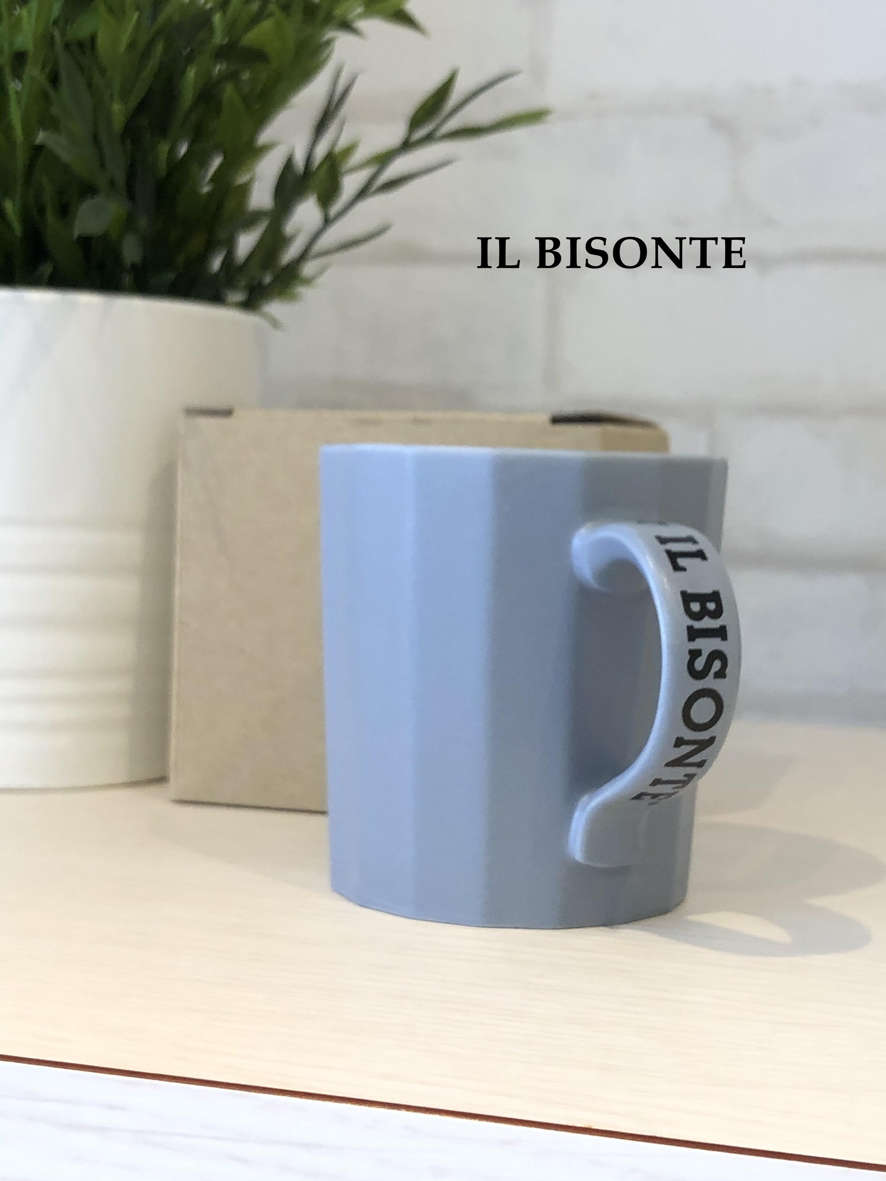 IL BISONTE/マグカップ/4198(ブルーグレー)